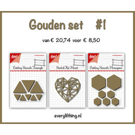 Joy!Crafts Gouden Set #1
