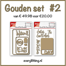 Joy!Crafts Gouden Set #2