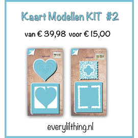 Joy!Crafts KaartModellen KIT #2
