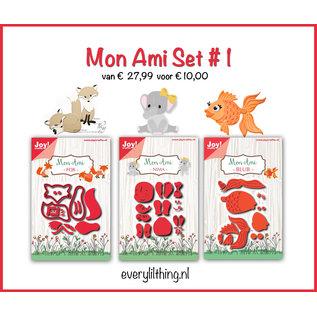 Joy!Crafts Mon Ami set #1