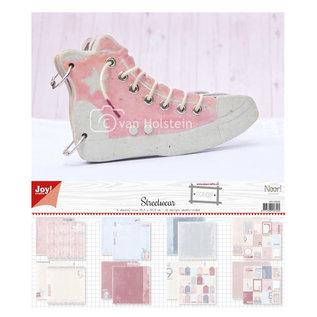 Joy!Crafts MDF boekje - Sneaker