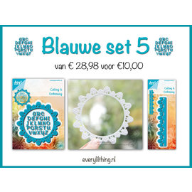 Joy!Crafts Blauwe Set 5