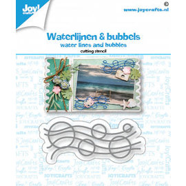 Joy!Crafts Stansmal - Waterlijnen en Bubbels