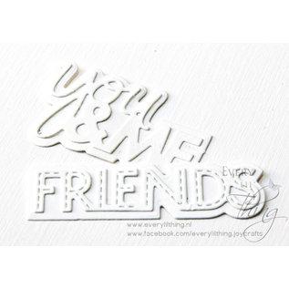 Joy!Crafts Snijstencil - Noor - LH - You&Me/Friends