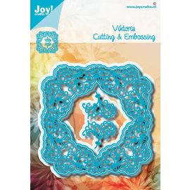 Joy!Crafts Snij-embosstansmal - Noor - Vierkant Viktoria