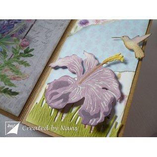 Joy!Crafts Snij-debos-embosstansmal - Kolibrie & bloem