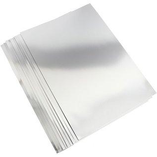 Joy!Crafts Spiegelkarton zilver