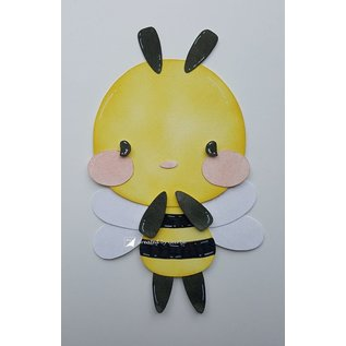 Joy!Crafts Polybesa stencil - Jocelijne - Bijtje Bee