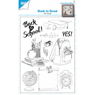 Joy!Crafts Clearstamps - Back to school