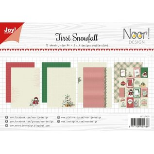Joy!Crafts Papierset - Noor - Design - First Snowfall