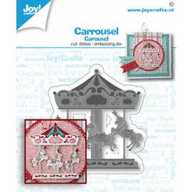 Joy!Crafts Stans-embos-debosmal - Carrousel
