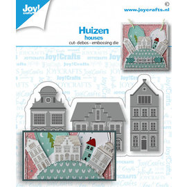 Joy!Crafts Stans-embos-debosmal- Huizen