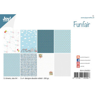 Joy!Crafts Papierset - Design Funfair