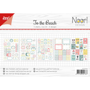 Joy!Crafts Labelvellen - Noor - Design To the beach
