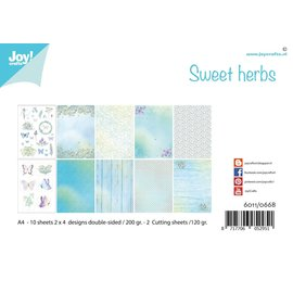 Joy!Crafts Papierset - Sweet herbs