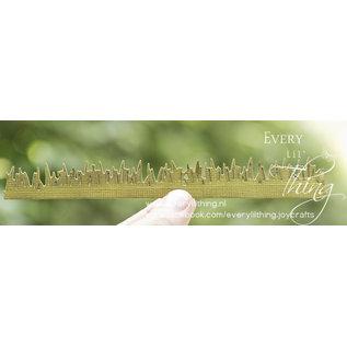 Joy!Crafts Snijstencil-kleine gras border