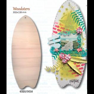 Joy!Crafts Surfplank hout voor Mixed Media