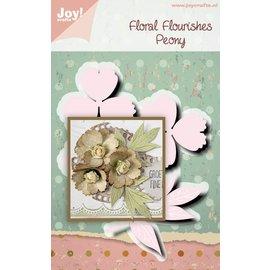 Joy!Crafts Stansmal- Noor - FF- Pioenroos
