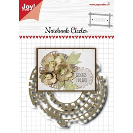 Joy!Crafts Stansmal- Noor - Scrap - Grungy cirkelmal