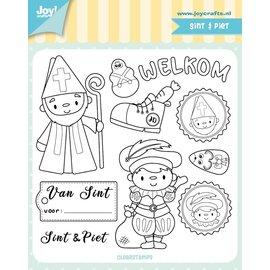 Joy!Crafts Clearstempel - Jocelijne - Sint & Piet