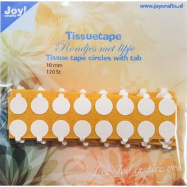 Joy!Crafts Tissuetape-rondjes met treklipje - ¯10 mm
