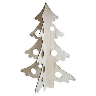 Joy!Crafts Houten Deco-Kerstboom 3D