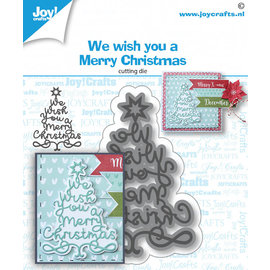 Joy!Crafts Stansmal - WeWishYou-kerstboom