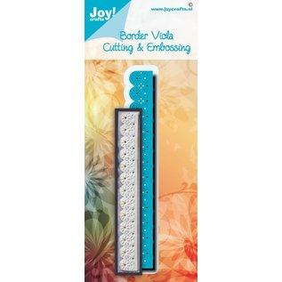 Joy!Crafts Stans-embosmal - Noor - Border Viola