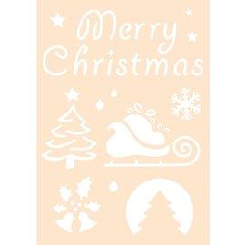 Joy!Crafts Polybesa stencil - Merry Christmas