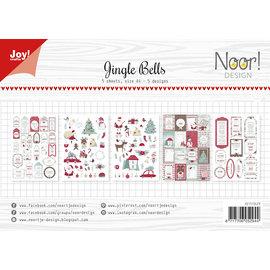 Joy!Crafts Labelvellen - Noor - Jingle Bells