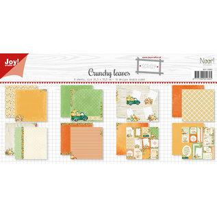 Joy!Crafts Scrap Papierset - Noor - Design Crunchy leaves