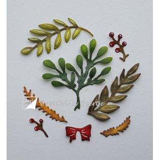 Joy!Crafts Stansmallen - Kersttwijgen & Mistletoe