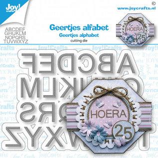 Joy!Crafts Stansmal - Geertje - Alfabet gestikt