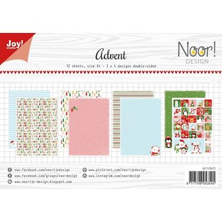 Joy!Crafts Papierset - Noor - Design Advent