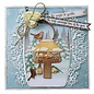 Joy!Crafts Stans-debos-embosmal - Vogelhuis winter