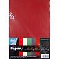 Joy!Crafts Karton A5 Kerstkleuren 10vel x 5kleuren 200 gr