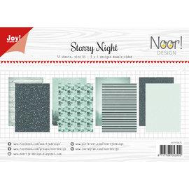 Joy!Crafts Papierset - Noor - Design Starry Night