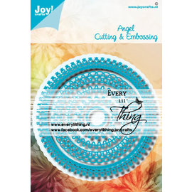 Joy!Crafts Stans - embosmal - Noor - Blauwe mal Angel