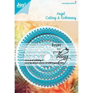 Joy!Crafts Stans - embosmal - Noor - Blauwe mal Angel
