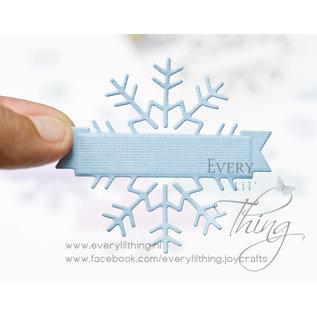 Joy!Crafts Stans-embosmal - Sneeuwvlok label