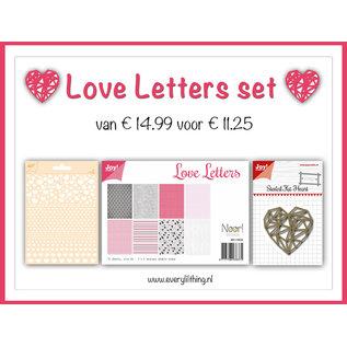 Joy!Crafts Love Letters Set