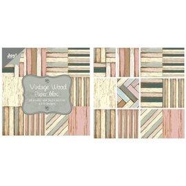 Joy!Crafts Papierblok - Vintage wood