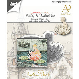 Joy!Crafts Stans-debos-embossing mal -  Anton Pieck - Baby & Waterlelie