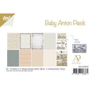 Joy!Crafts Papierset - Anton Pieck - Design Baby