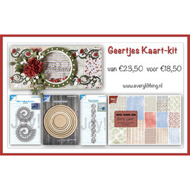 Joy!Crafts Geertje's Kaart kit