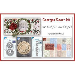 Joy!Crafts Geertje's Kaart kit