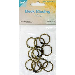 Joy!Crafts Boekbinders-ringen 20mm, 12st