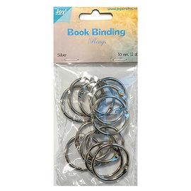 Joy!Crafts Boekbinders-ringen, 30mm, 12st