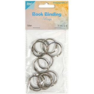 Joy!Crafts Boekbinders-ringen, 25mm