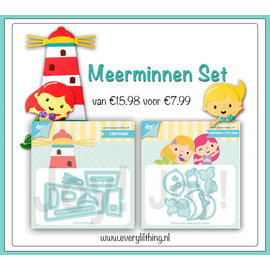 Joy!Crafts Meerminnen Set